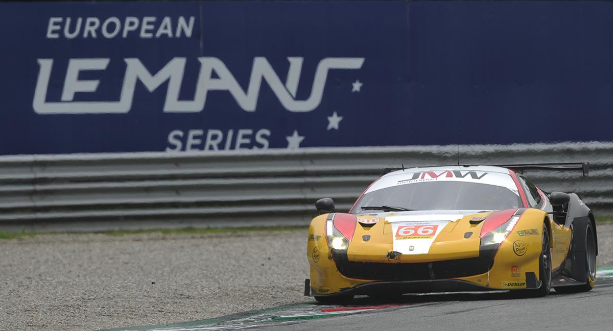 JMW – 3rd @ ELMS Monza